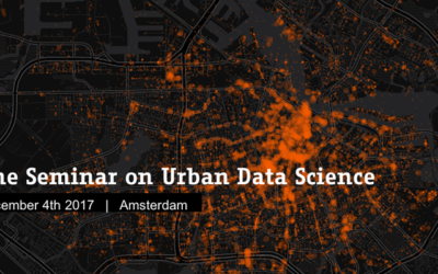 AMS Seminar on Urban Data Science