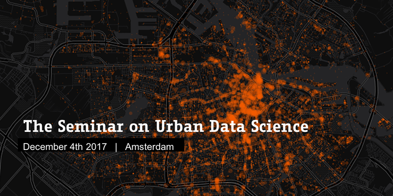 AMS Seminar on Urban Data Science